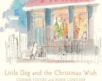 Little Dog and the Christmas Wish_ cover